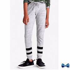 Justice Girls Size 14-16 Plus Mesh Stripe Jersey Jogger New With Tags