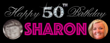 Birthday Party Banner 18th/21st/30th/40th/50th/60th Bling Numbers