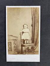 Victorian Carte De Visite CDV: Sweet Child: Lawrie: Edinburgh