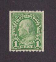 United States stamp #604, MNHOG, XF, SCV $15.00