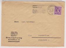 Bizone/AM-Post, 15b EF, Braunschweig, MWS, 5.12.45