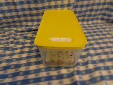 New Tupperware FRIDGESMART Large Long 1½ gal./6.1 L Sunny Yellow