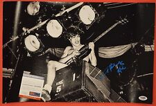 Angus Young AC/DC Signed Autographed 12x18 Photo Flawless PSA/DNA COA