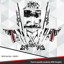 SLED WRAP GRAPHICS KIT DECAL STICKERS SKI-DOO REV MXZ SNOWMOBILE 03-07 SA0291