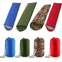 4 Season Sleeping Bag Waterproof Outdoor Camping Hiking Envelope Single Zip Bag
