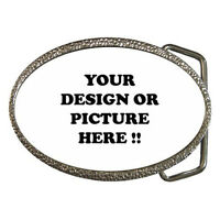 New Personalized Custom your Logo, Design, Photo, Text for Belt Buckle