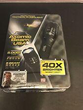 Atomic Beam USA Tough Grade Focusing Tactical Flashlight 5 modes As Seen on TV