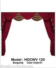 Saaria Home Theater Decorative Curtain Valance Stage 12'W x 8'H (HDCWV120)