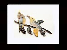 Antonio-5 PCS Birds Mop Inlay Material Diy Fingerboard Or Head Plate Guitar IL52