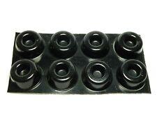 More details for atmos speaker isolation gel pads / feet (black) x 8