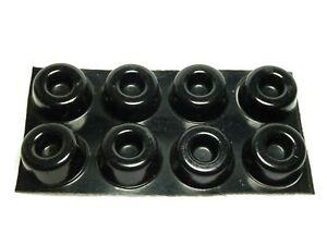 ATMOS Speaker Isolation Gel Pads / Feet (BLACK) x 8