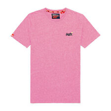 Superdry Ol Vintage Embroidery T-shirt Short Sleeve - Pink Grit All Sizes