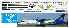 1/144 ATR-72 PAS-DECALS MAS WINGS 9M-MWF
