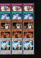 Yugioh Cards - 15 Card Shiranui Deck Core - BOSH Common Set All 1st Edition