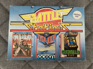 Battle Stations - Amstrad CPC 6128 disc, untested