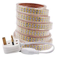 Waterproof 220V 240V LED Strip Light 5050 3014 2835 5630 For Garden Outdoor home