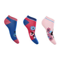 Minnie Mouse Trainer Liner Socks for Girls - 3 Pairs