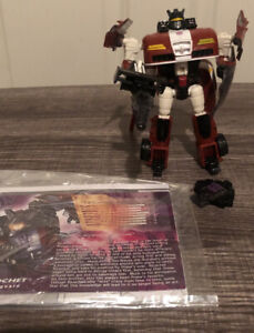 Botcon 2008 Transformers Attendee Exclusive Shattered Glass Ricochet