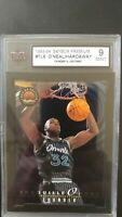 Shaquille O'neal + Hardaway 93-94 Skybox Thunder And Lightning #TL6  graded 9 !!