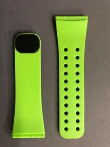 LifeTrak watch band - reversible, Color: Lime & black. Material PU, SS029