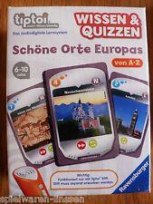 Ravensburger Tiptoi Wissen Quiz schöne Orte Europas neu & ovp