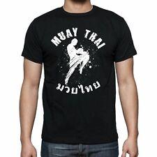 Camiseta Muay Thai Artes marciales Kick Boxing Gym Dmt003 SIL