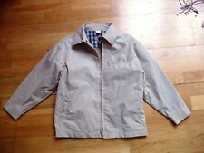 Boys ADAMS beige smart casual jacket age 8 excellent condition dressy light v