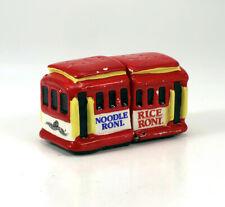 Vintage Rice a Roni Noodle San Francisco Cable Car Salt & Pepper Shakers Ceramic