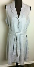Peter Nygard Women Petite Dress Gray Size 14