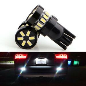 10Pcs T10 194 168 W5W 3014 18LED SMD White Car Side Wedge Light Bulb Lamp 12V