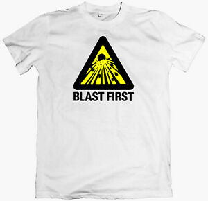 BLAST FIRST! T-shirt, sonic youth, dinosour jr, big black,  butthole surfers