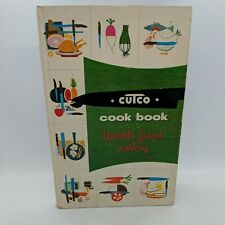 Cutco Cook Book Meat & Poultry Illustrated Retro Mid Century Vintage 1961