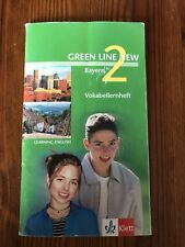 Greenline New Green Line Bayern 2 Klett Learning English Gymi Vokabellernheft