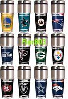 NFL ,NBA,MLB,NHL Team Travel Tumbler 16OZ Stainless Steel Coffee Mug