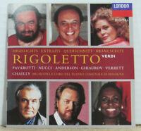 Verdi / Pavarotti- Rigoletto (Highlights) Label: Decca Format: CD, Album, Stereo