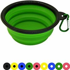 Zenify Dog Bowl - 400ml Collapsible Foldable Food and Water Feeder Dish