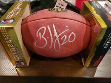 Brian Dawkins Philadelphia Eagles signed Wilson Duke official NFL Football JSA