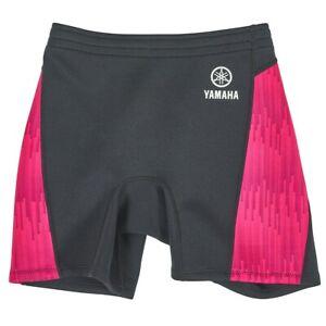 Yamaha Women's Yamaha Neoprene Ride Shorts Pink