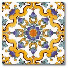 Piastrelle 20x20 Decorate A Mano ceramica Vietri 1 Mq.consegna 7 Gg Lavorativi