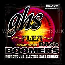 GHS M3045F Boomers Flea Signature Medium Gauge Bass Guitar Strings 45 - 105