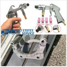 Car Parts Aluminum Air Siphon Sand Blasting Guns+4 X Ceramic Nozzles 4.5/5/6/7mm