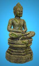 Aquarium Deko 🍀 BUDDHA 🍀 17,5 cm Asien Tempelfigur Dekoration Indien