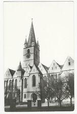 Romania - Sibiu, Catedrala evanghelica - Transylvania - Vintage Real Photo