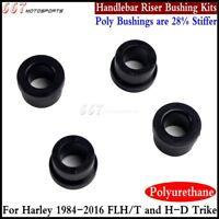 4Pcs Motorcycle Handlebar Riser Bushing Kits For Harley Touring FLH/T 1984-2016