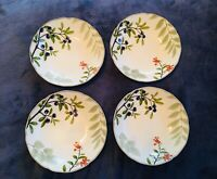 "Noritake Berries And Brambles 8-1/4"" Soup Pasta Bowls Set Of 4"