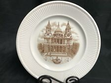 "Wedgwood 1941 Old London View Collector Plate ~ ""St. Paul'S"" ~ 10 1/2"""