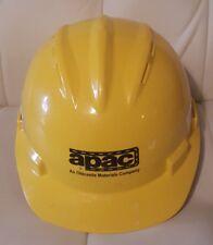 Bullard Hard Hat Construction Yellow APAC adjustable 6 1/2-8