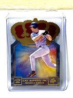 Cal Ripken Jr 2001 Pacific Gold Crown Die-Cuts Baltimore Orioles