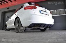 AUDI A3 Sportback 8pa Difusor Trasero Difusor RS3 Look