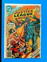 JUSTICE LEAGUE OF AMERICA #146 DC COMICS 1977 GD+